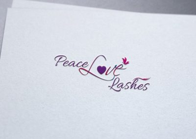 Peace Love Lashes